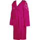 arena Zodiaco Bathrobe fuchsia/white